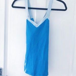 Lululemon Size S Blue Tank Top